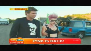 P!nk Today Show Interview 4/7/12