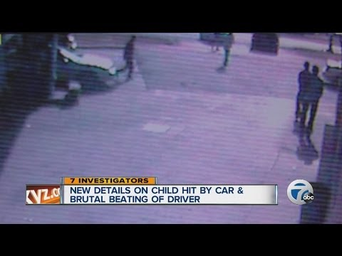 New details on child hit by car and brutal beating of driver