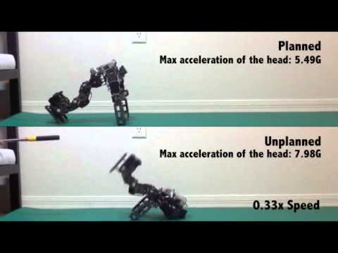 Video Demo of Robots Falling with Algorithm