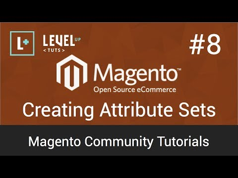 Magento Tutorial 8 – Creating Attribute Sets