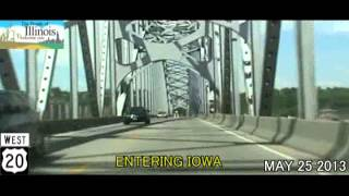 East Dubuque (IL) United States  city photos gallery : East Dubuque IL to Dubuque IA US-20 Time Lapse Drive