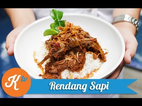 Resep Rendang Sapi (Beef Rendang Recipe Video/Caramelized Beef Curry) | RAY JANSON
