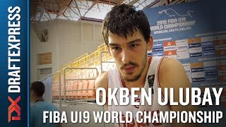 Okben Ulubay 2015 FIBA U19 World Championship Interview.