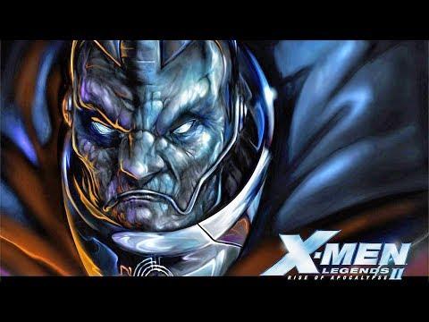 X-Men Legends II: Rise of Apocalypse Cinematics- HD