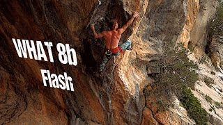WHAT 8b / 5.13d Flash (Twin Caves, Leonidio)   Uncut Ascent by Mani the Monkey