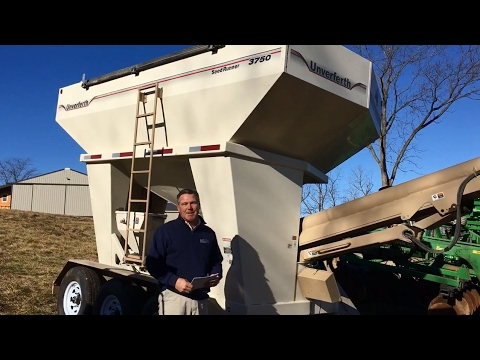 2014 Unverferth 3750 Seed Tender Sold Today on Missouri Farm Auction