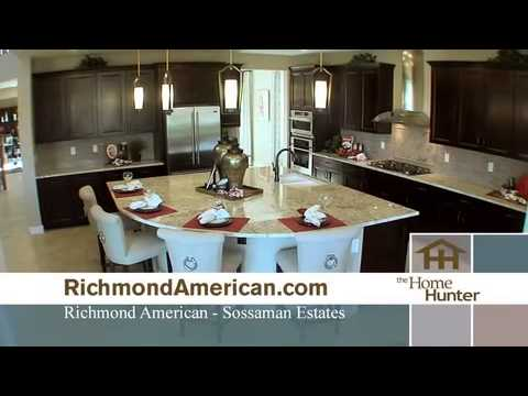 hqdefault sossaman estates in queen creek az new homes floor plans by on - Richmond Homes Design Center