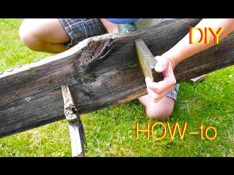 DIY Brett Wand Regal  / Wall shelf Anleitung