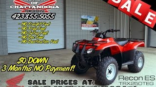 8. 2016 Honda Recon ES 250 ATV For Sale - Chattanooga TN / GA / AL area PowerSports Dealer