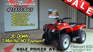 9. 2016 Honda Recon ES 250 ATV For Sale - Chattanooga TN / GA / AL area PowerSports Dealer