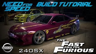 Nonton Need for Speed 2015 | The Fast & The Furious Letty's Nissan 240SX Build Tutorial | How To Make Film Subtitle Indonesia Streaming Movie Download