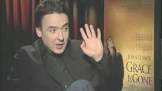 Non verbal test analyse af skuespilleren John Cusack under et interview med en meget uforberedt journalist, der tror han er Kevin...