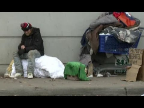 Detroit Homeless Man Accepts Credit Cards