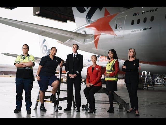 ジェットスター プロフェッショナルズ ~Women who fly~ムービー