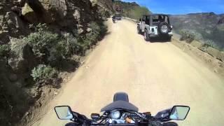8. Apache Trail Cliff Edge - DR650SE - Hero 3