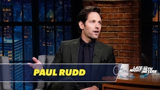 Video Paul Rudd Reveals Details About Ant-Man and the Wasp MP3, 3GP, MP4, WEBM, AVI, FLV Februari 2019