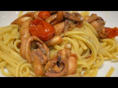 Ricette video pasta for Cucinare moscardini