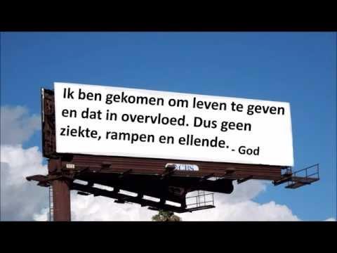 Wat als God een billboard had?