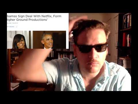 Obama to Run Netflix! Jay Dyer Does Perfect Obama Imrpession (видео)