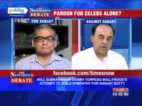 newshour - In a debate moderated by TIMES NOW's Editor-in-Chief Arnab Goswami, panelists -- Justice Katju, Chairman, Press Council of India and Subramaniam Swamy, Presi...