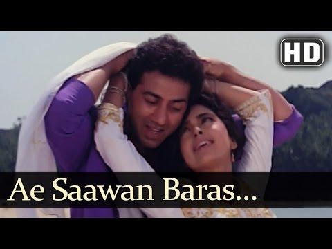 Ae Saawan Baras Zaraa - Lootere Song - Juhi Chawla - Sunny Deol - Lata Mangeshkar - Romantic Song