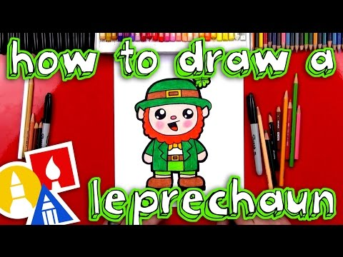 Play this video How To Draw A Cartoon Leprechaun