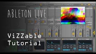 [ViZZable Tutorial] Como fazer uma performance audio-visual no Ableton Live