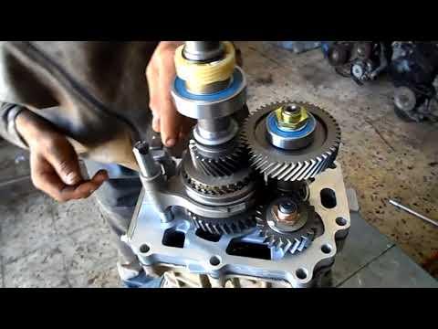 Revisin boite a vitesse isuzu TFR -  شروحات عن علبة السرعة