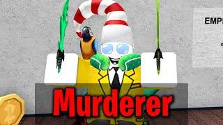 Roblox Murder Mystery 2 - ONLY MURDERER