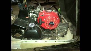 8. Arctic Cat Kitty Cat 6.5hp 4 stroke engine swap