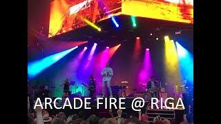 ARCADE FIRE live @ Riga, Latvia, 06.08.2018.