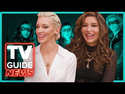 Katie Cassidy and Juliana Harkavy Tease Arrow Spin-off Cameos