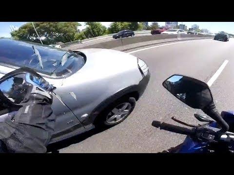 Stupid, Crazy & Angry People Vs Bikers 2018 [Ep.#307] (видео)
