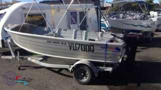 Quintrex 420 Dory Fishing Boat