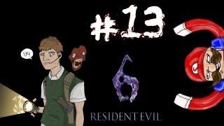 Residential Evil - Resident Evil 6 Ada Campaign Walkthrough / Gameplay w/ SSoHPKC Part 13 - T-Rex Re