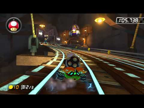 Wii Wario's Gold Mine - 1:52.813 - Diogo (Mario Kart 8 World Record) видео