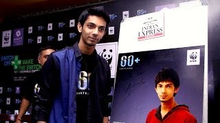 Anirudh pledges support for Earth Hour 2014