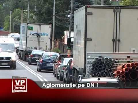 Aglomeratie pe DN1