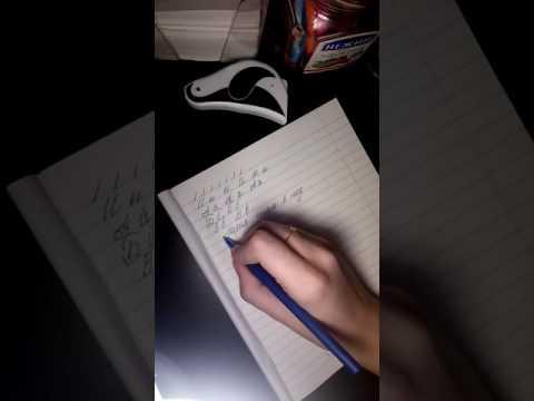 Как научиться красиво писать?