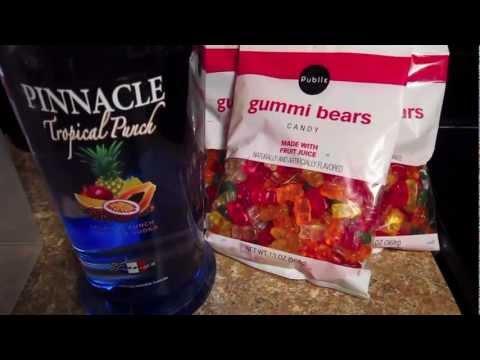 Jumbo Drunken Gummy Bears Best Vodka Recipe Yet Part 1