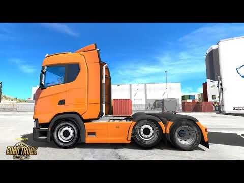 Back Exhaust for Scania S v1.0