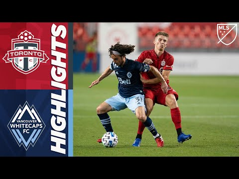 Toronto FC vs Vancouver Whitecaps FC | August 21, 2020 | MLS Highlights