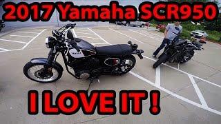 3. 2017 Yamaha SCR950 First Ride