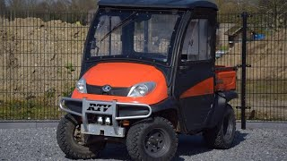 7. Kubota RTV 500 Compact Utility Vehicle