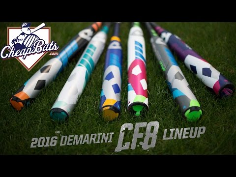 CheapBats.com 2016 DeMarini CF8 Fastpitch Softball Bats