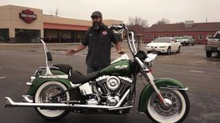 2. 2013 Harley-Davidson Softail Deluxe with Python Fishtail True Duals on Consignment