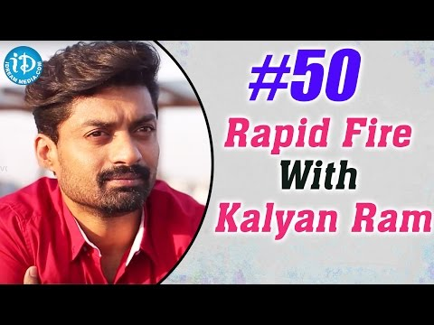 Hashtag #50 || Rapid Fire With Kalyan Ram