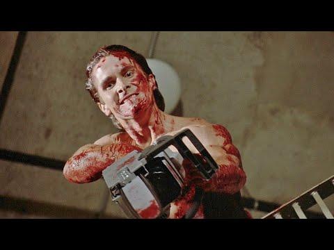 American Psycho Chainsaw Scene (HD 1080P)