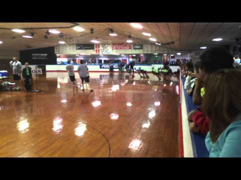 Springfield Skateland MSSL Meet #2, 2014-2015 Season - Elite Men 2000m Final