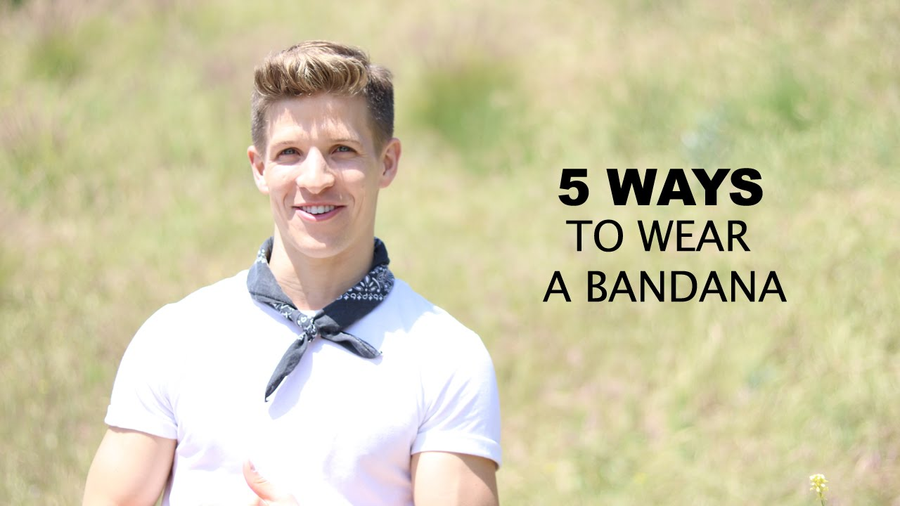 How to wear a Bandana